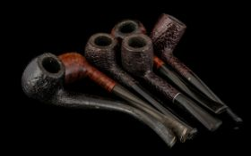 Collection of Old Pipes, six in total to include Hardcastle Special Deluxe, Graco Sablee etc.; a