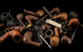 Huge Collection of Pipes and Accessories, all makes and models; need to be sorted