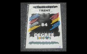 Nottingham Trent Polytechnic Poster 1984, BA Honours Degree Shows, Dept, of Art and Design;