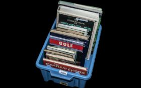 Misc Collection Golfing Books. The Ultimate Golfer, Anatomy of a Golf Course, How to Play Your