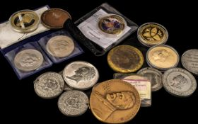 Collection of Mixed Coins and Medallions, 19th century to modern day coins and medallions: to sort