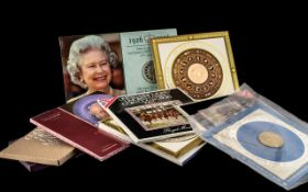 Large Collection of Coin Sets to include £5 proof coin, 1978 'Coinage of Britain', 1970 'Coinage