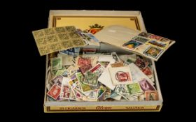 Large Collection of Stamps. Good collec