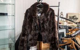 Ladies Vintage Short Coney Jacket, with