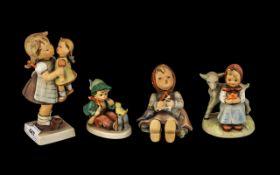 Four Hummel Goebel Figures of Children,