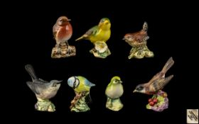Collection Of Six Beswick Bird Figures T