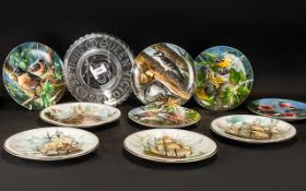 Five Knowles China 'Birds of Your Garden