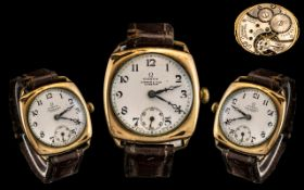 Omega - Gold Plated Cased 15 Jewels Mech