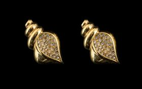 Swarovski Earrings. Stamped for Swarovsk