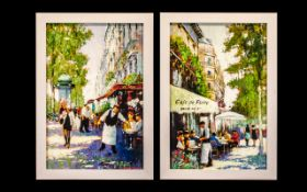 Pair of Prints on Canvas highlighted in