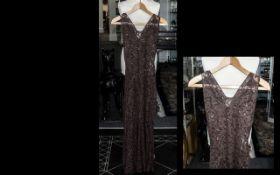 Genuine Vintage Ladies Evening Dress ci