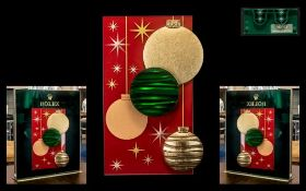 Rolex - Official Superb Ionic and Scarce Original Medium Sized Artwork Shop Window Display Board -