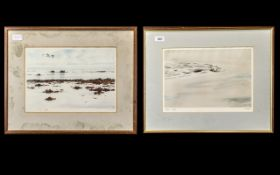 W Neill Signed Limited Edition Prints, two, numbered 150/200 and 118/200, both pencil signed