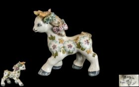 "Rare Basil Matthews Pony Figurine circa 1960, 4"" tall; signed to underside of pony,"