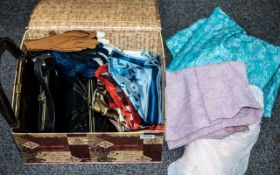 Collection of Vintage Handbags, Scarves, Gloves, Hats and Dresses,