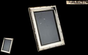 Large Silver Photo Frame, dated for London 1987,
