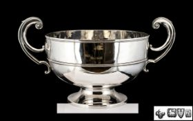 Edwardian Period - Superb Quality Huge and Impressive Twin Handle Punch Bowl of Excellent