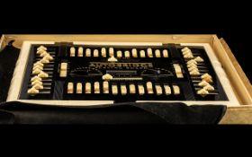 Art Deco Bakelite Autobridge Luxury Model Series 51, to include black and white playing board,