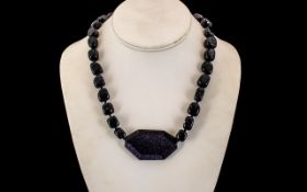 Lola Rose Modern Beaded Necklace, with large centre stone. New condition with tags.