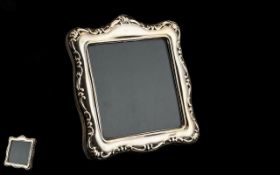 Silver Photo Frame of lovely design and quality, silver hallmark for Birmingham,