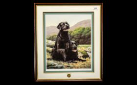 Signed Limited Edition Print 'Noble Comp