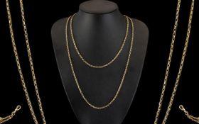 Victorian Period - Attractive 9ct Gold M