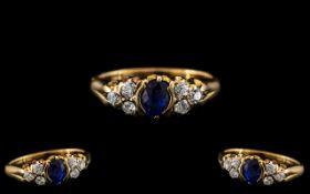 Antique Period - Exquisite 18ct Gold Dia