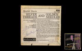 Skeeter Davis Autograph on Record Sleeve