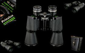 Pair of German Binoculars. 12 x 50, 262