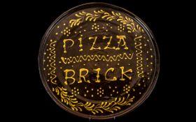 Large Vintage Italian Pizza Plate, large