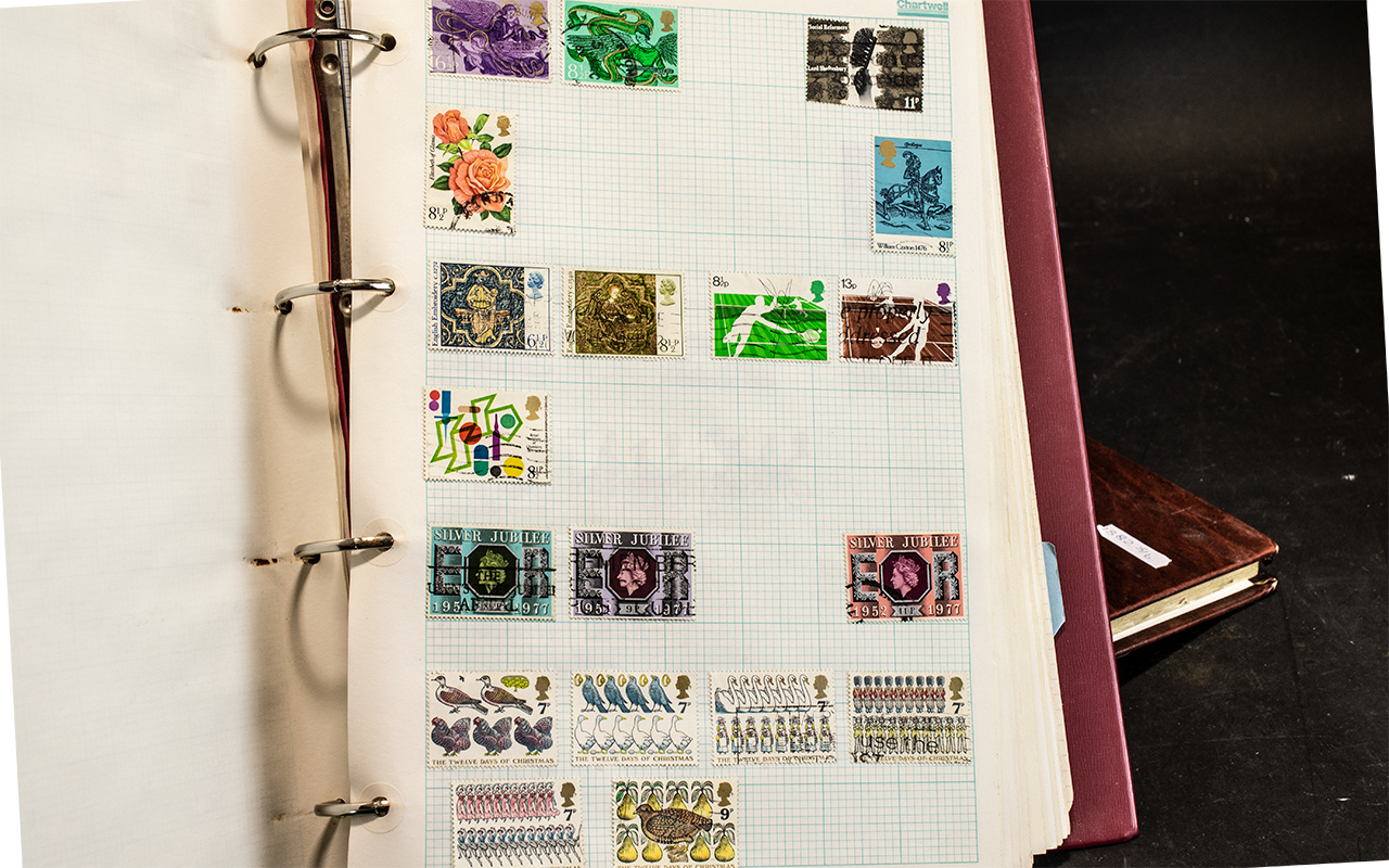 A Collection of Assorted Stamp Albums. - Image 5 of 5