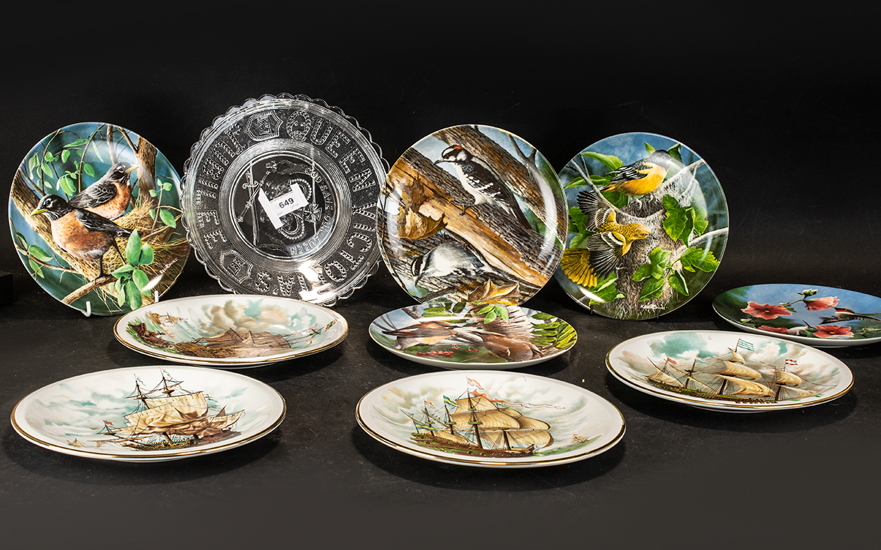Five Knowles China 'Birds of Your Garden' Limited Edition Collection, comprising: The Baltimore