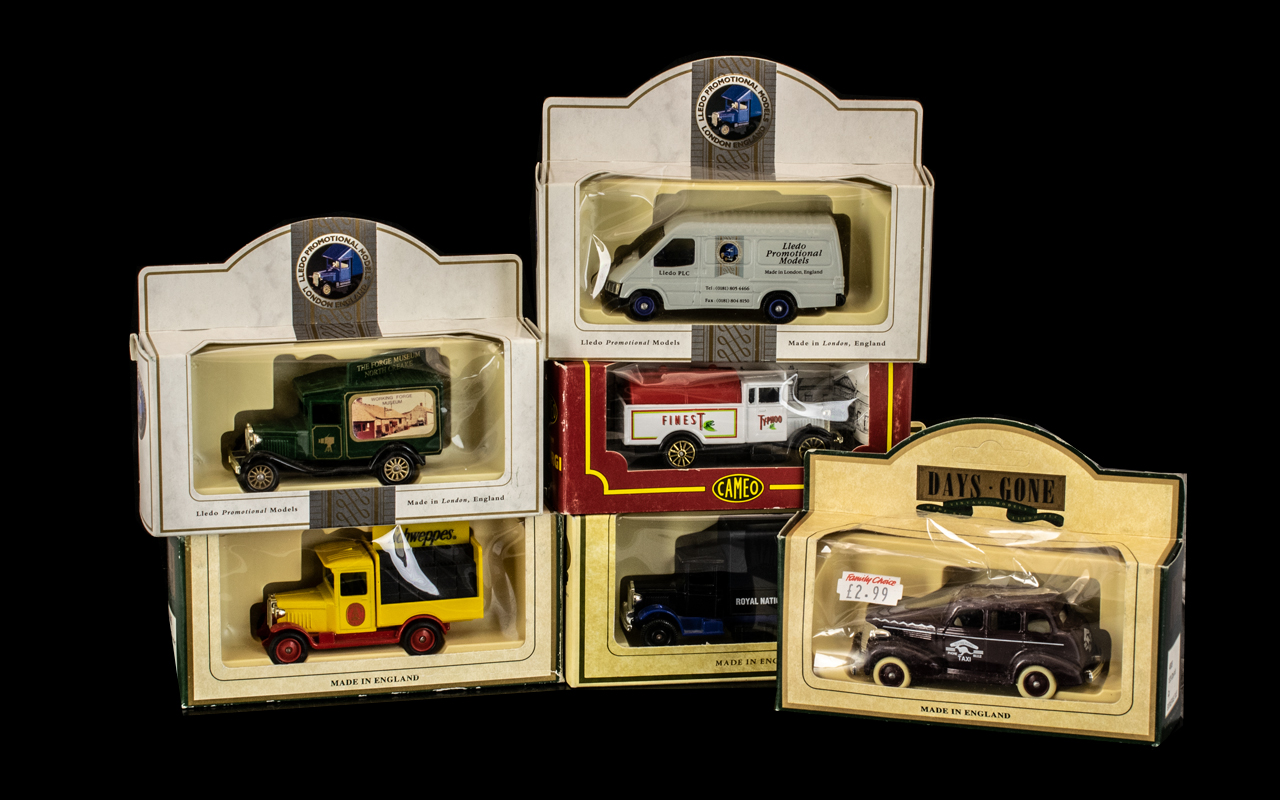 20 Assorted Boxed Diecast Model Vehicles, includes Corgi,Lledo, Advertising etc. Cars, trucks, and - Image 2 of 2