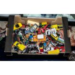 Large Collection of Die Cast Model Cars, and vans etc.