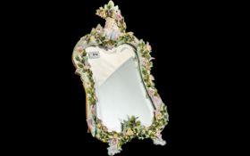 Porcelain Dressing Table Mirror,