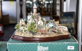 Limited Edition Lilliput Lane Model 'Out of the Storm' L 2064, Limited Edition No. 1963, complete