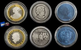 Royal Mint - The Definitive Britannica 2015 United Kingdom 2 Pound Silver Proof Struck Coin.
