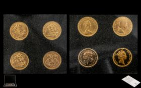 The Queen Elizabeth II Portrait Sovereign Collection.