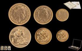 The United Kingdom - Ltd Edition 2013 Sovereign Set. Comprises 1/ 2013 Full 22ct Gold Sovereign.