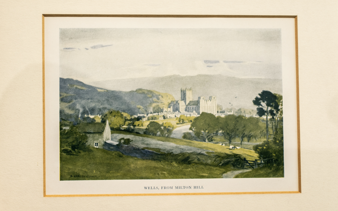 Dorothy Bruce: A Set of Three Signed Prints of Kirkcudbright Harbour and High Street, - Image 2 of 2