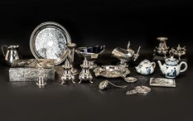 Collection of Plated Ware,