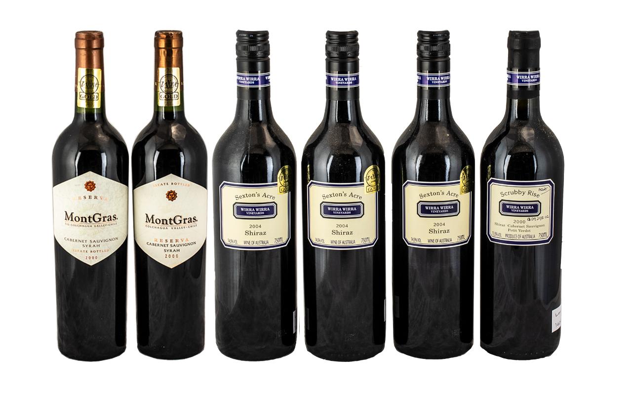Wirra - Wirra Vineyards Sextons Acre Vintage Bottles of Shiraz Cabernet ( 4 ) Bottles In Total.