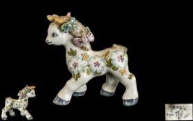 Rare Basil Matthews Pony Figurine circa 1960, 4'' tall; signed to underside of pony, in good