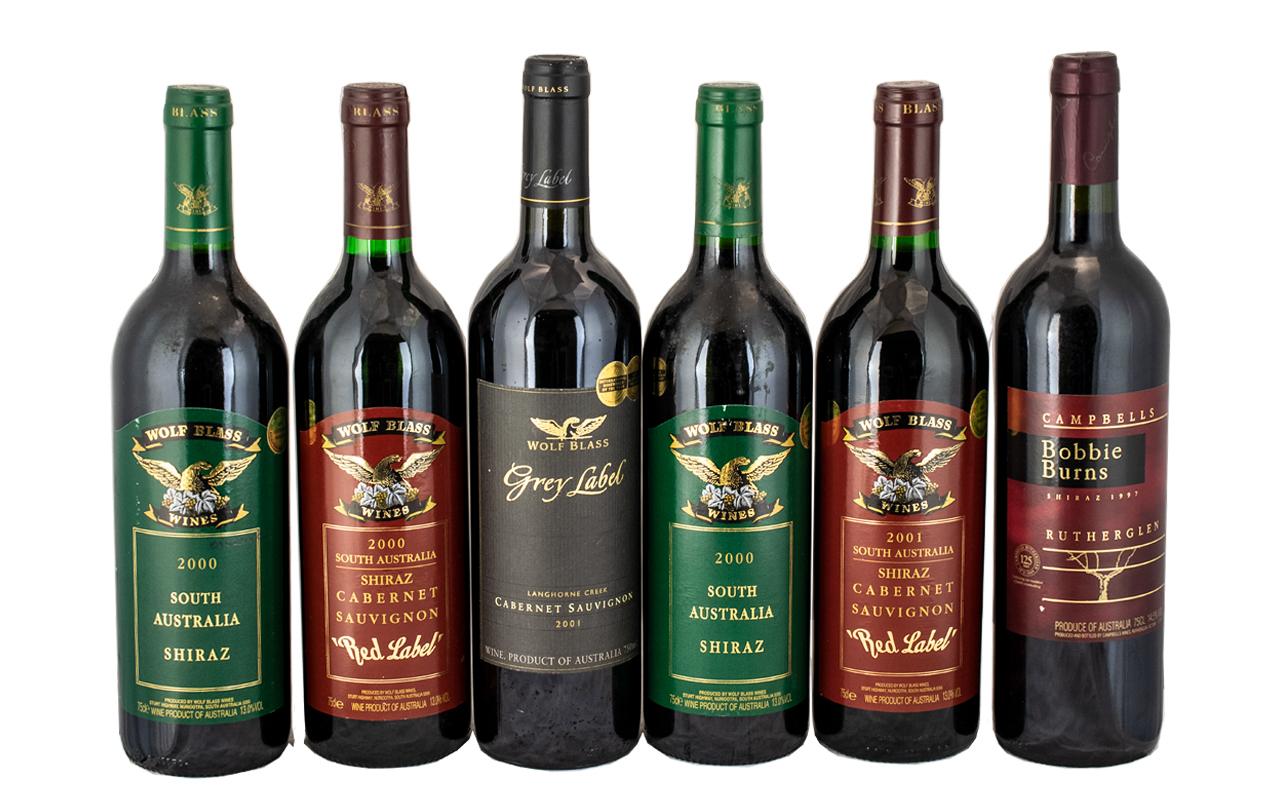 Wolf Blass International Wine Maker of Year 2001 South Australia Langhorne Creek Winner of Gold
