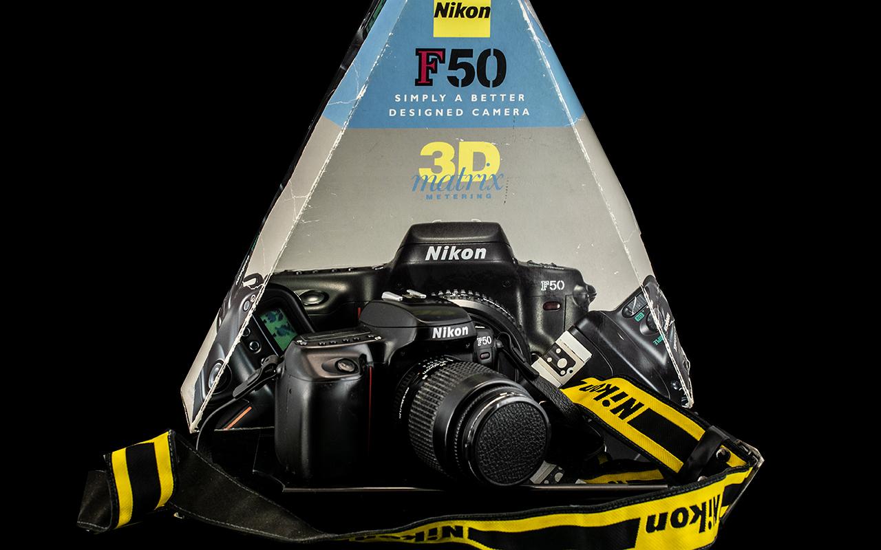 Nikon F50 Camera 3D Matrix Metering,