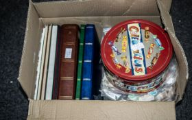 A Box Containing a Large Quantity of Wor