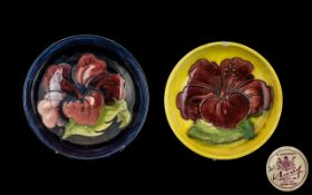 """Two Moorcroft Dishes, one 5.5"""" diameter"""