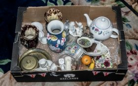 Large Collection of Porcelain, Pottery &