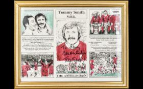 Football Interest - Signed Tommy Smith C