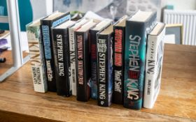 Collection of Stephen King Hardback Book